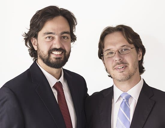 Dr. João Amadera e Dr. Daniel Camargo Pimentel